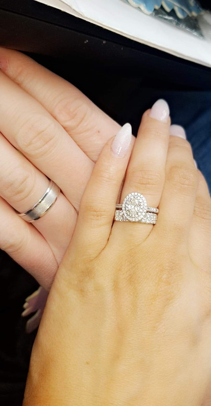 Aisling and Kevin Draine's Wedding Rings