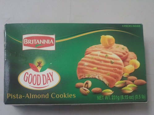 BRITANNIA GOODAY PISTHA ALMOND COOKIES