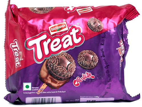 BRITANNIA TREAT CHOCOLATE COOKIES