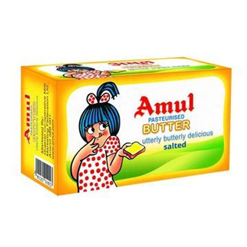 Amul Pasteurized Butter (Salted)