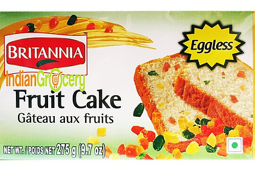 BRITANNIA FRUIT CAKE (EGGLESS)