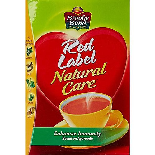 BROOKE BOND RED LABEL NATURAL CARE