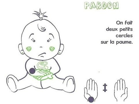 Langage signé - Pardon