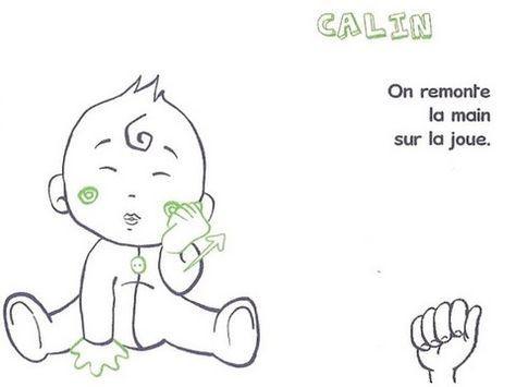 Langage signé- Calin