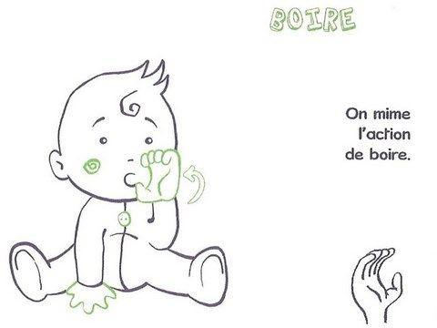 Langage signé- Boire