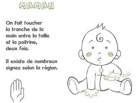 Langage signé- Maman