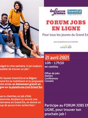 Un coup de pouce pour les jeunes en recherche d'emploi !