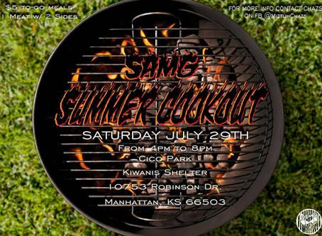 SAMG Summer Cookout