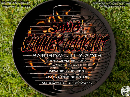 SAMG Summer Cookout