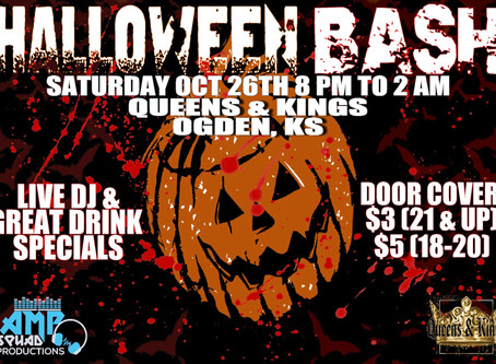 Halloween Bash @ Queens and Kings!
