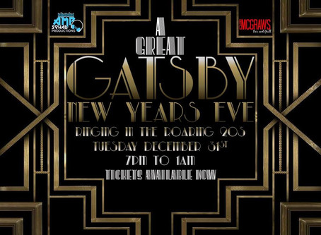 A great Gatsby NYE at the Blue Hills Room