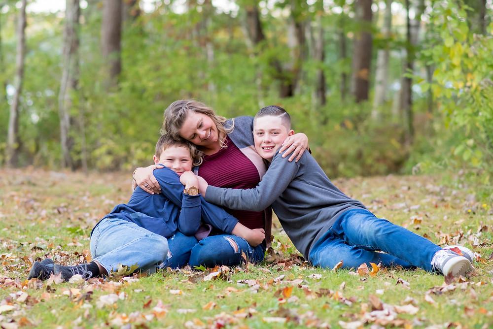 family photo, coastal