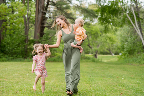 Sweet session with Jessica and her kiddos ~ Falmouth, Maine Audubon ~ Patience Cleveland Photography
