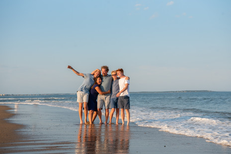 Family beach session ~ Ocean Park, Maine ~ Patience Cleveland Photography