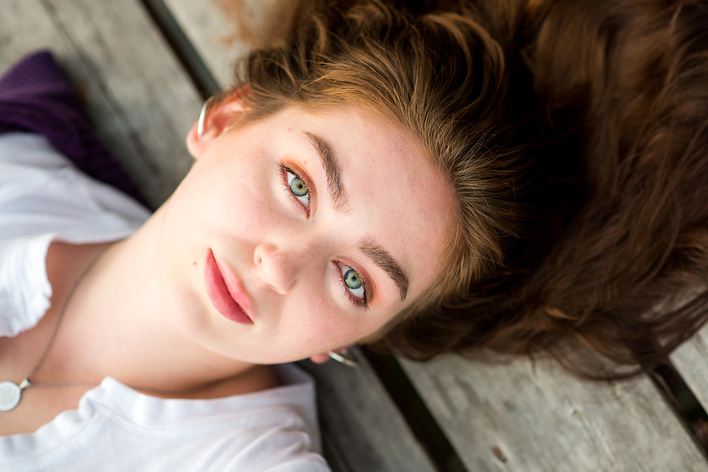 HS Senior girl portraits
