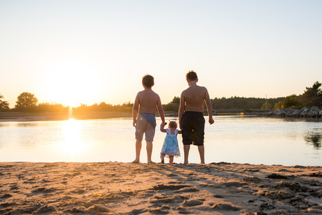 Fun Family Session at Ocean Park ~ Maine Family Photographer ~ Patience Cleveland Photography