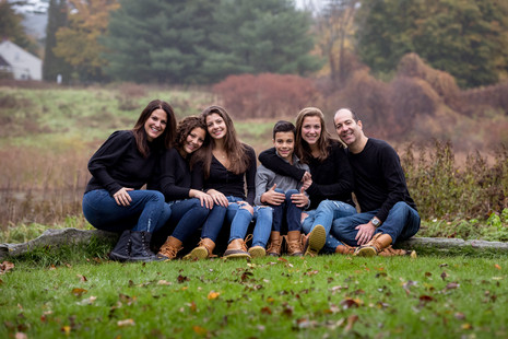 A little rain didn't stop us ~ Falmouth Family Photographer ~ Patience Cleveland Photography