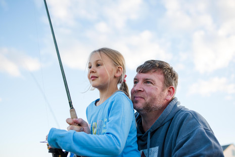 A little fishing with my family (personal post) ~ Maine Lifestyle Family Photographer