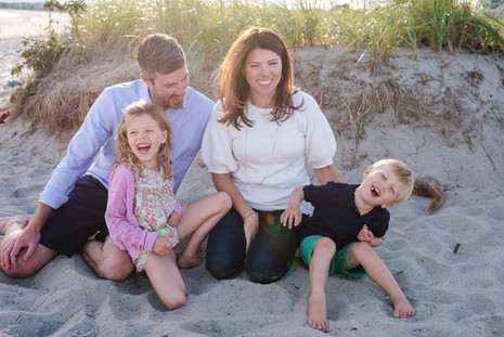 You have a to love Maine beaches in the fall ~ Family Beach Session ~ Patience Cleveland Photography