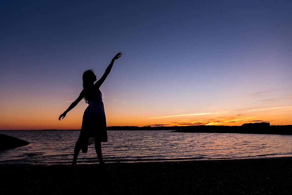outdoor ballet dancer