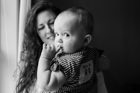 Family Session at home ~ Maine lifestyle photographer ~ Freeport, Maine