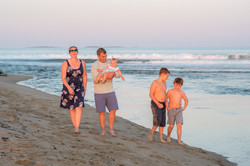 maine family beach session