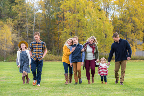 Gorgeous fall extended family session ~ Falmouth, Maine family photographer ~ Patience Cleveland Pho