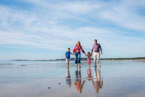 Scarborough Beach Family Session ~ Maine Family Photographer ~ Patience Cleveland Photography