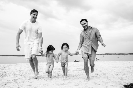 Fun at Goose Rocks Beach ~ Family Lifestyle session ~ Patience Cleveland Photography, Maine