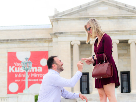 Proposal at the Art Museum