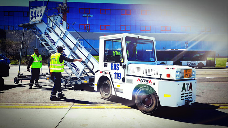 Romanian Airport Services fleet in the summer issue of Airside International