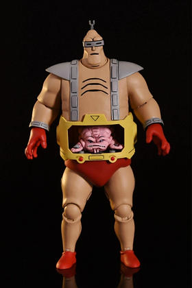 """Krang's Android Body - TMNT Cartoon - MB Exclusive Ultimate  7"""" NECA"""