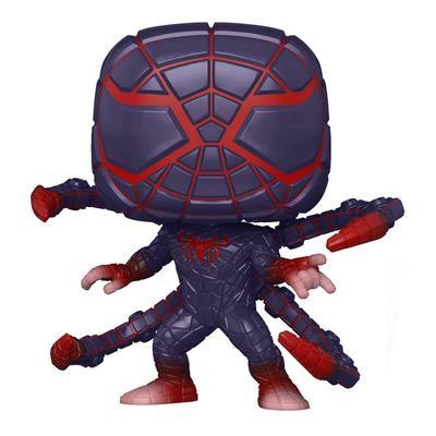 SPIDER-MAN MILES MORALES MILES (PROGRAMMABLE MATTER SUIT) MARVEL'S  - POP
