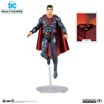 "Superman - DC Multiverse - Red Son - Mcfarlane 7"""
