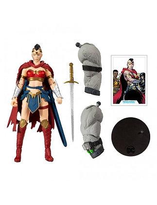 "Wonder Woman (BAF BANE) - DC Multiverse Last Night on Earth - Mcfarlane 7"""