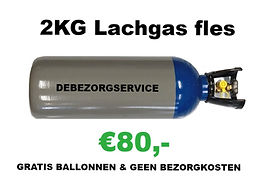 Lachgas fles / tank Soest