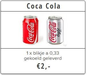 coca cola thuisbezorgd bierkoerier utrecht