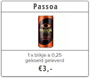 passoa thuisbezorgd bierkoerier utrecht