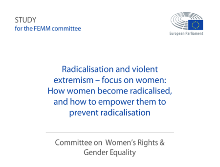 Radicalización y extremismo violento centrado en las mujeres