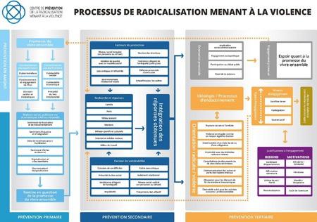 El proceso de radicalización que conduce a la violencia