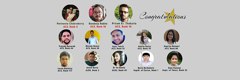 Successful APSC selections from Gradient IAS