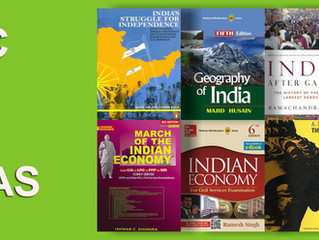 Booklist for UPSC and APSC (new syllabus) - General Studies