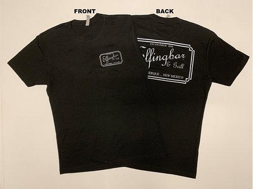Men's Short Sleeve Crew Neck T-shirt (Black or Gray)