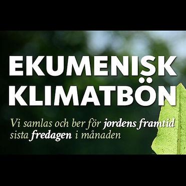 Ekumenisk klimatbön