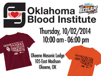 October 2nd Blood Drive