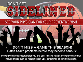 Have you had your preventive visit?
