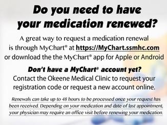 Do you need a medication renewal?