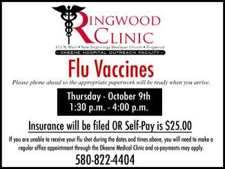Ringwood Clinic Flu Vaccines