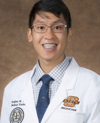 Stephen Tran is new preceptee at Okeene Hospital