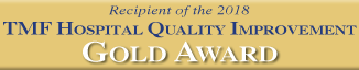 Okeene Hospital Receives Gold Award  For Quality Improvement